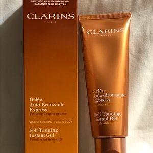 BNIB CLARINS Self Tanning Instant Gel